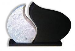 Kapu pieminekļis R-04 ar pamatni